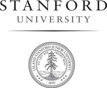 Stanford University Logo Grayscale 300B